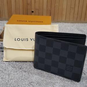 LV Damier Bifold Mens Wallet